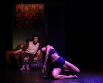 "Arcosm Co. presented ""Traverse"" at Theatre Raymond Kabbaz on Feb. 1. / Photo courtesy of Arcosm"